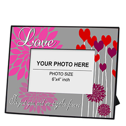 Floral Hearts Photo Frame : Buy Personalized Floral Hearts Photo Frame Online | Amazing designs for amazing customized gifts | Scoop.it