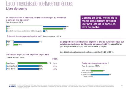 [ETUDE] KPMG : baromètre 2016 de l'offre de livres numériques en France | Clic France | Scoop.it