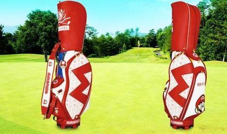Mario Makes Its Way Onto Officially Licensed Golf Caddie Bags - Ubergizmo | Borse Artigianali in Italia | Scoop.it