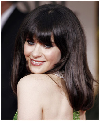 celeb hair trend: the blunt fringe | kapsel trends | Scoop.it