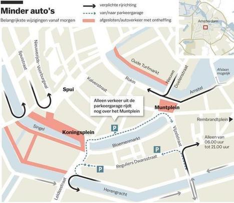 De auto is niet meer de baas op het Muntplein - Amsterdam - PAROOL | Stuka78 | Scoop.it