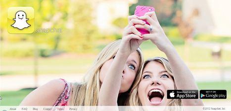 Snapchat: eerste hype van 2013? | Educatief Internet - Gespot op 't Web | Scoop.it