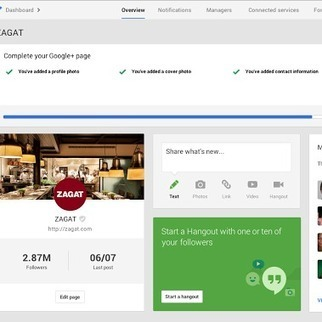 Google+ Dashboard - making it easier to manage your online presence | Self Promotion | Scoop.it