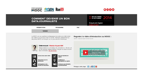 Le data journalisme pour les nuls… | Web et journalisme | Scoop.it