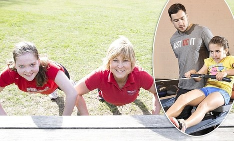The children as young as nine with personal trainers - Daily Mail   Ethics in the Fitness Industry   Scoop.it