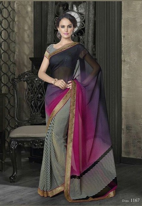 Saree -The Dress With Elegance And Class | Beautiful Marriage Sarees | Nice one | Scoop.it