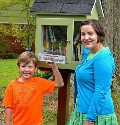 Little libraries - The Advocate | School Libraries | Scoop.it
