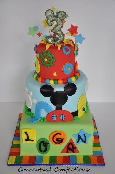 Mickey Mouse Club House Theme - by ConceptualConfection ... | Disney Baking Recipes | Scoop.it