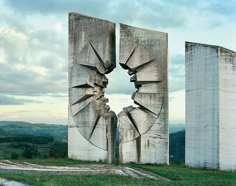 Abandoned Yugoslavian Monuments by Jan Kempenaers | What's new in Visual Communication? | Scoop.it