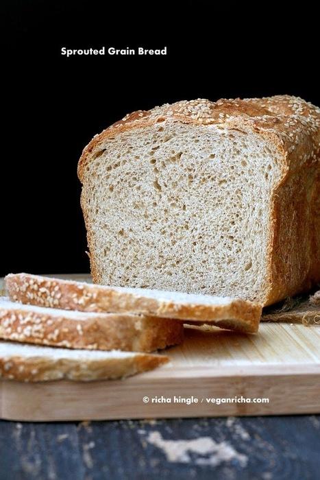 Sprouted Wheat Millet Sandwich Bread. Vegan Recipe | Vegan Richa | My Vegan recipes | Scoop.it
