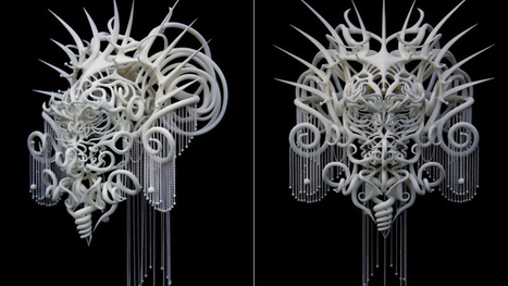 Whoa, This 3D-Printed Headdress Should Be The Next Predator | WOW Factor | Scoop.it