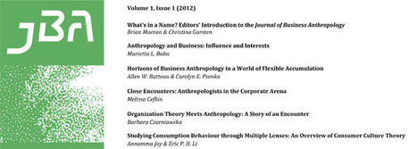 Journal of Business Anthropology | Anthrofutures | Scoop.it