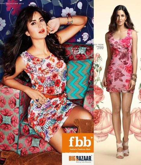 Katrina Kaif FBB Photoshoot in Floral Short Skirts, Actress, Bollywood, Western Dresses | Indian Fashion Updates | Scoop.it