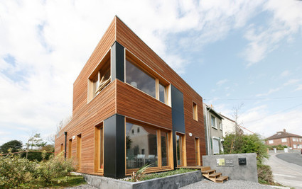 Un Cube à la Mer - archicontemporaine.org - Le panorama en images du Réseau des maisons de l'architecture | Maisons Bois Basse Conso | Scoop.it