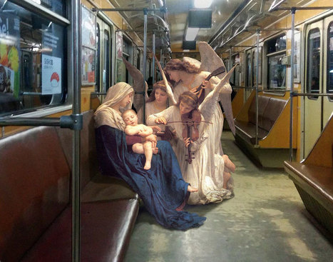 If Figures From Classical Paintings Lived In The Modern Day | Arte y Cultura en circulación | Scoop.it