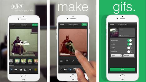 Aplicaciones para crear GIFs animados desde el móvil | iPad classroom | Scoop.it