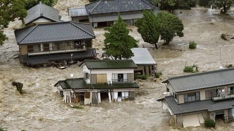 Au Japon, le Typhon Etau oblige 170000 personnes à être déplacées et menace la centrale de Fukushima | Japan Tsunami | Scoop.it