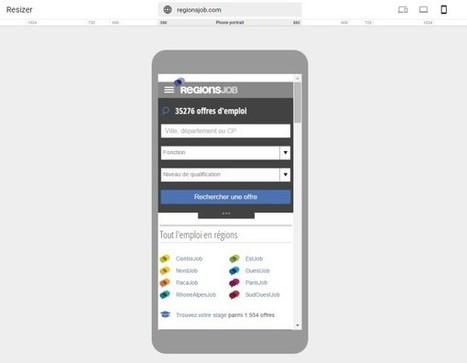 Google lance Resizer, un outil interactif pour tester un site sur plusieurs écrans | Nouvelles pratiques de communication et de médiation | Scoop.it