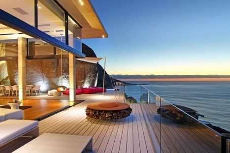 A luxurious South Africa villa capturing splendid landscapes | Beautiful Beach Houses | Scoop.it