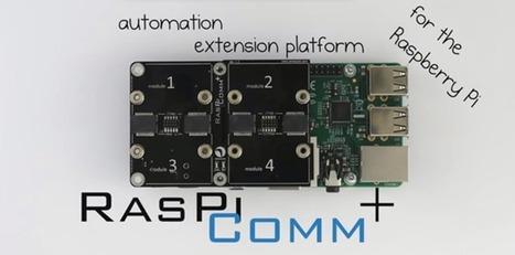 RasPiCommPlus, An Expansion Board For Expansion Boards | Arduino, Netduino, Rasperry Pi! | Scoop.it