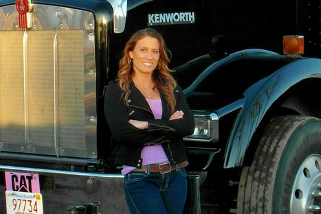 Overdrive's Most Beautiful finalist Kristen Kudlic | Truckers Daily | Scoop.it