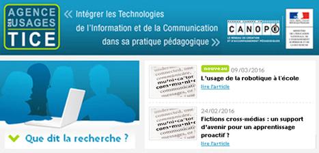 Que dit la recherche ? L'usage de la #robotique à l'école @Usages_TICE #EcoleNumerique | R-e-cherches, publications, présentations | Scoop.it