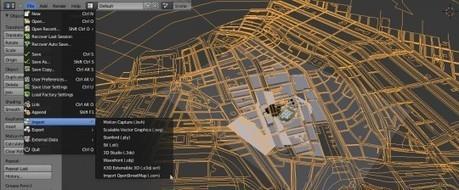 Open Street Maps import | Tears of Steel | OpenStreetMap and 3D | Scoop.it