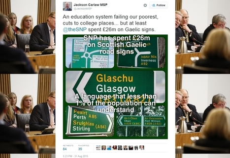 The lesser of two stupids   Politics Scotland   Scoop.it