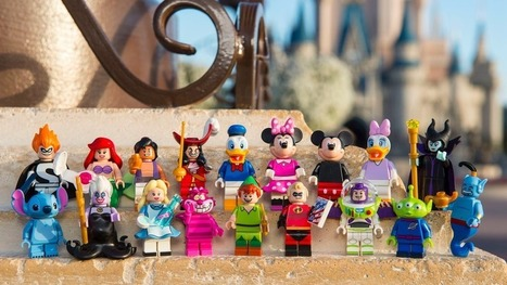 All your favorite Disney characters will soon be available in Lego form | Comic Book Trends | Scoop.it