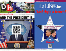 USA 2012: les Unes belges attirent l'attention des médias américains | Bienvenue dans le journalisme contemporain | Scoop.it