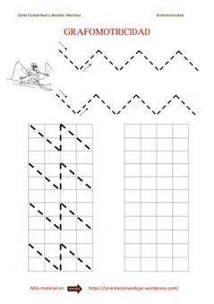 Colección de nuestras 500 fichas de grafomotricidad Orientación Andújar - Orientacion Andujar | Materiales de Orientación Andújar | Scoop.it