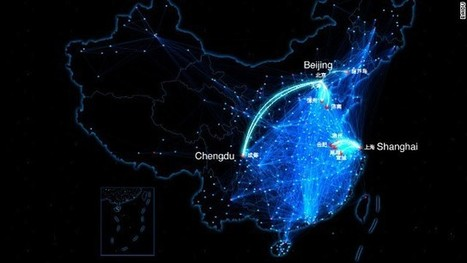 Moving map shows Chinese New Year travel rush in real time - CNN | Chinese Tourism 中国人旅游 | Scoop.it