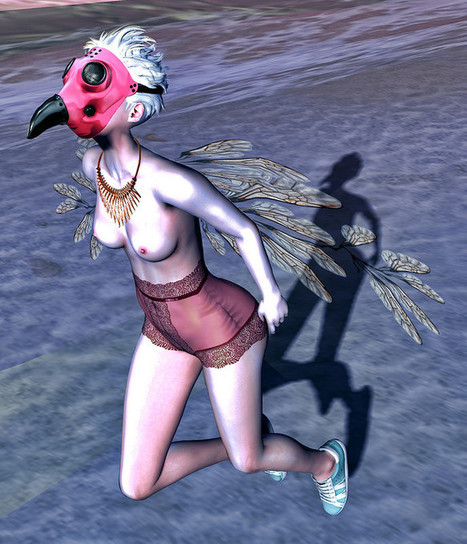 Learning to Fly | 亗  Second Life Fashion Addict  亗 | Scoop.it