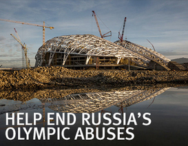 Russia: Olympic Sponsors Muted on Sochi Abuses | Human Rights Watch | SOCHI: GAMES OF SHAME | Scoop.it