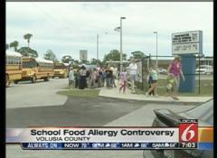 Parents Protest Over Girl's Peanut Allergy - Orlando News Story - WKMG Orlando | Parenting a Food Allergic Child | Scoop.it