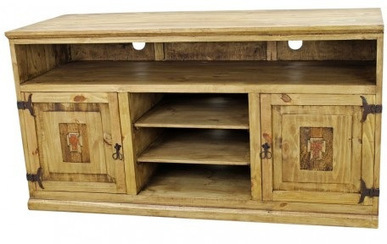 Entertainment Center with Copper Cross Rustic TV Stand | Entertainment Center with Copper Cross Rustic TV Stand | Scoop.it