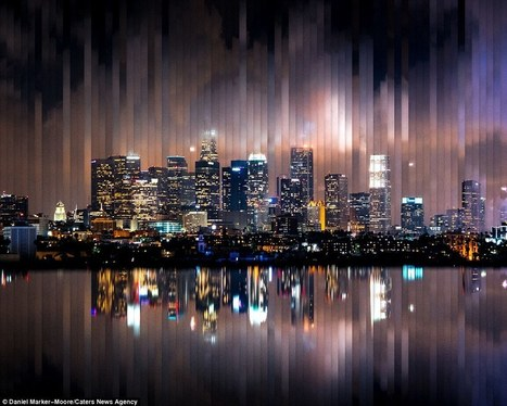 Stunning Time Slice Images Show Cities Shift From Day To Night | Everything from Social Media to F1 to Photography to Anything Interesting | Scoop.it