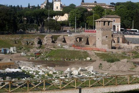 Roma: Llegan a su fin los trabajos en el Circo Máximo. Localizada la spina y las metae del circo   LVDVS CHIRONIS 3.0   Scoop.it