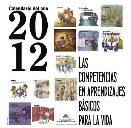 Calendario 2012 sobre Competencias Básicas | Posts d'Educació i les TIC | Scoop.it