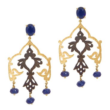 Constantina Earrings | Edwardian Steampunk Culture | Scoop.it