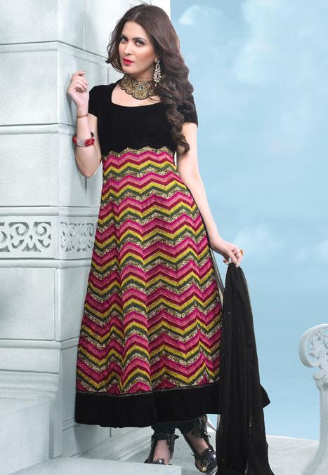 Designer Lehenga Choli Online Shopping at Desibutik.com | Salwar Kameez: Yami Gautam Collection | Scoop.it
