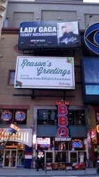 "FFRF sends ""Reasons's Greetings"" to New Yorkers 