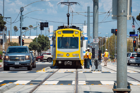Santa Monica Expo Train Trying to Prevent Pedestrian Accidents | Pedestrian Safety and Accident Prevention in California - CA Pedestrian Accident Attorney | Scoop.it