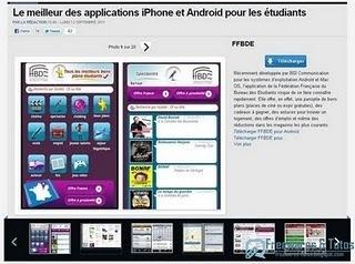 Le site du jour : Les meilleures applications iPhone et Android pour les étudiants | Technologie Au Quotidien | Scoop.it
