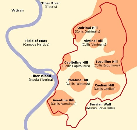 The Seven Hills of Rome: What Are They and What Can You See? | roma | Scoop.it