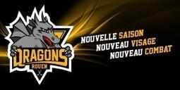 Le nouveau logo des Dragons de Rouen | Actualités de Rouen et de sa région | Scoop.it