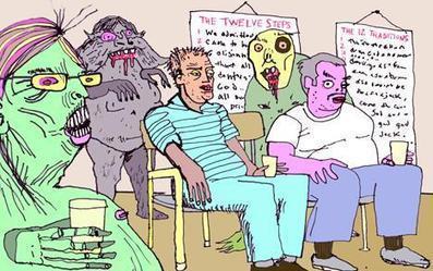 The Twelve Steps for Zombies - TheFix.com | Zombie Mania | Scoop.it