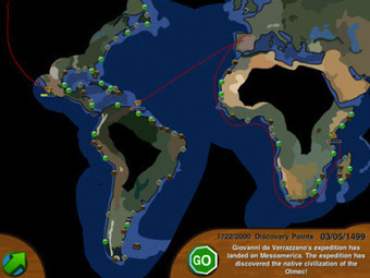 Free Technology for Teachers: European Exploration - A Game for Learning About The Age of Discovery | The Learning Game | Scoop.it