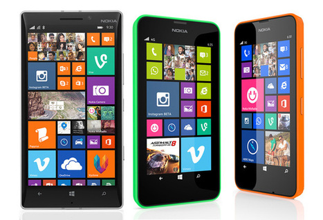 Nokia Lumia 930, Lumia 630 and Lumia 635 with Windows 8.1 launched | Prodsea Blog | prodsea.com - Prices of Mobile, Laptop and Cameras in India | Scoop.it