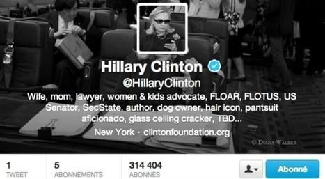 La bio Twitter d'Hillary Clinton est parfaite | Réseaux sociaux, l'actu | Scoop.it